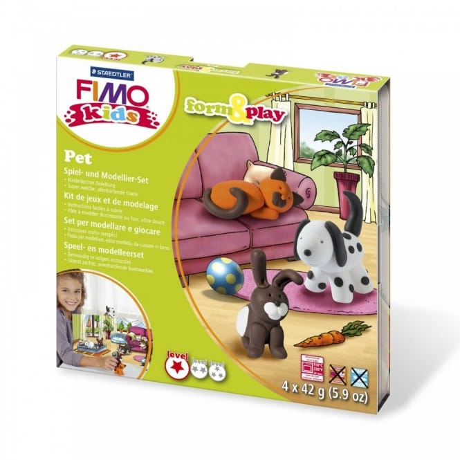 Pet Playtime and Modelling Set