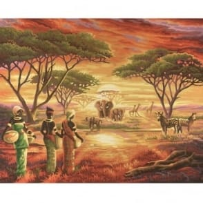 Picturesque Africa - Paint by Numbers