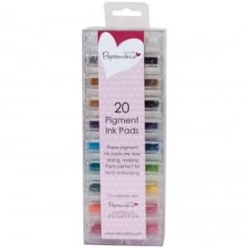 Pigment Ink Pads | 20 colours
