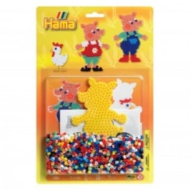 Pigs Bead Pack - Yellow