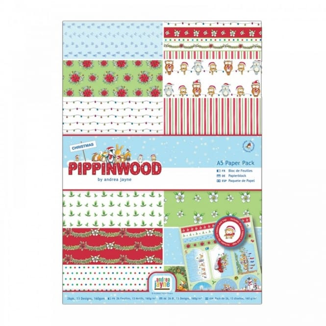 Pippinwood A5 Paper Pack 26pcs