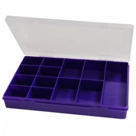 Plastic Organiser 13 section Box