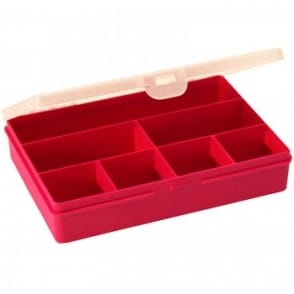 Plastic Organiser 7 Section Box