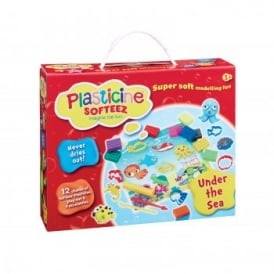 Plasticine Softeez Under The Sea Play Box