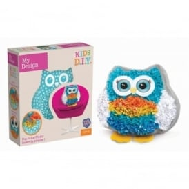 Plush Craft Owl - Fabric by Number