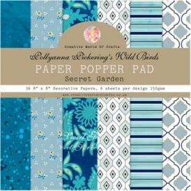 Pollyanna Pickering's Wild Birds Paper Popper Pad - Secret Garden