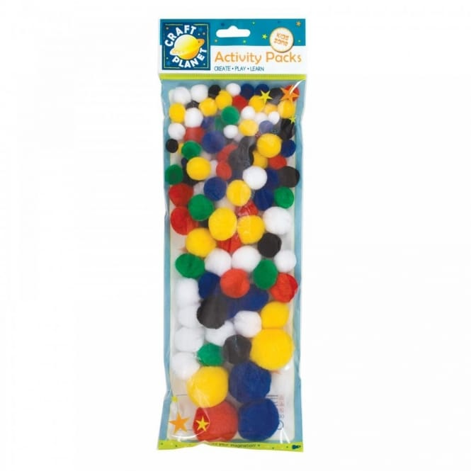 Pom Poms (Pack of 100)