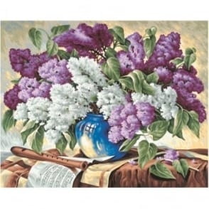 Premium Paint By Numbers Bunch of Lilacs