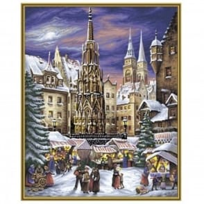 Premium Paint By Numbers The Nuremburg Christmas Market