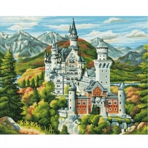 Premium Painting by Numbers - Neuschwanstein Castle
