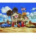 Premium Painting By Numbers Old American Gas Station