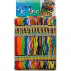 Prism Tie-Dye Coloured Craft Thread