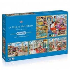 A Trip To The Shops - 4 x 500 Piece Puzzle