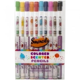 Coloured Scented Pencils (10 Pack)