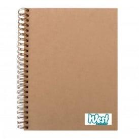 A4 Kraft Sketchbook