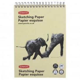 A5 Spiral Sketching Pad