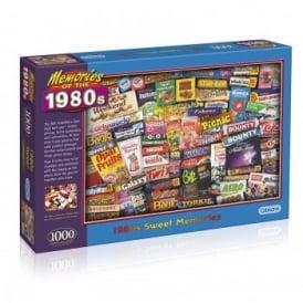 1980s Sweet Memories - 1000 Piece Puzzle