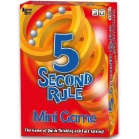 5 Second Rule Mini Board Game