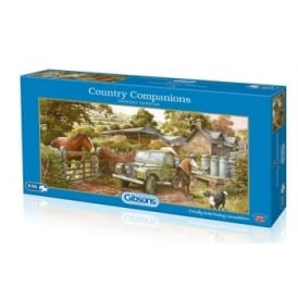 Country Companions Jigsaw Puzzle 636 Pieces