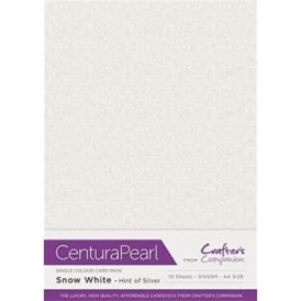 10-Piece Centura Pearl Sheet Pack | Snow White/Silver