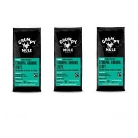 Coffee Beans Ethiopia Yirgacheffe 227g 3 Pack Bundle