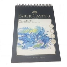 A4 Spiral Watercolour Pad 10 Sheets 300gsm