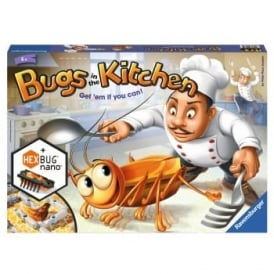 Bugs in the Kitchen 3D Board Game Includes HEX Bug Nano