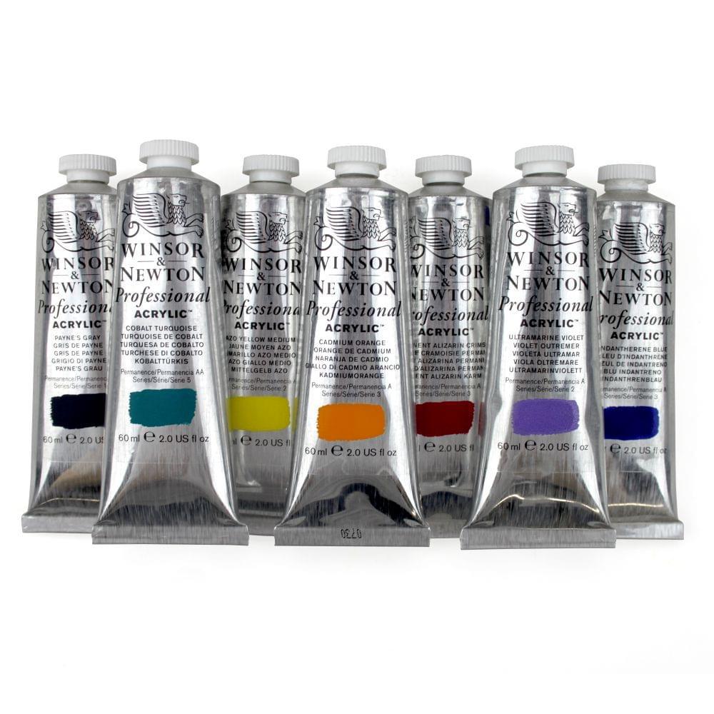Professional Artists Acrylic Paint Craftyarts Co Uk
