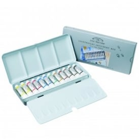 Professional Water Colour Lightweight Sketchers Box - 12 Tubes