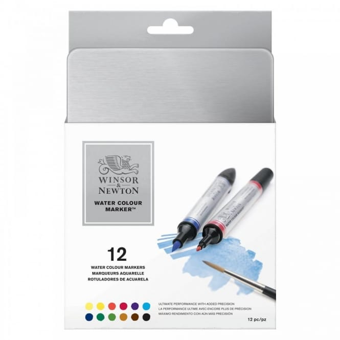 Professional Watercolour Markers (Tin of 12)