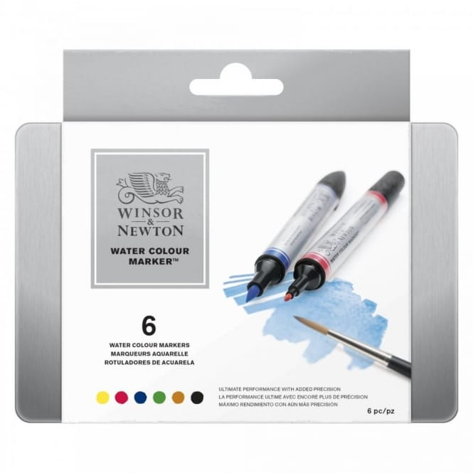 Professional Watercolour Markers (Tin of 6)