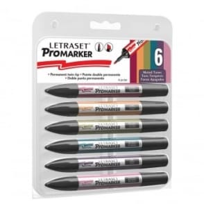 Promarker Muted Tones 6 Pack