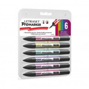 Promarker Rich Tones Set Of 6