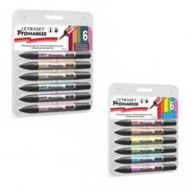 Promarker Vibrant & Muted Tones 12 Pen Bundle