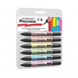 Promarker Vibrant Tones Set Of 6