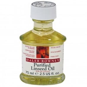 Purified Linseed Oil for Oil Colour 75ml