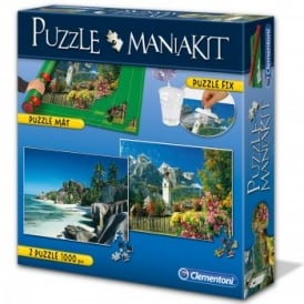 Puzzle Mat and 2 x 1000 pcs Puzzles Mania Kit*