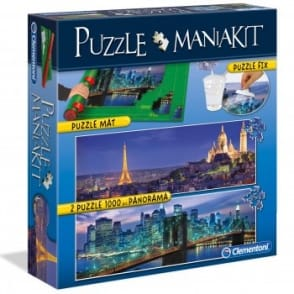 Puzzle Mat and 2 x 1000 pcs Puzzles Panorama Kit*