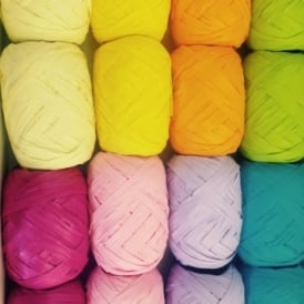 Raffia Assorted Colours 20m
