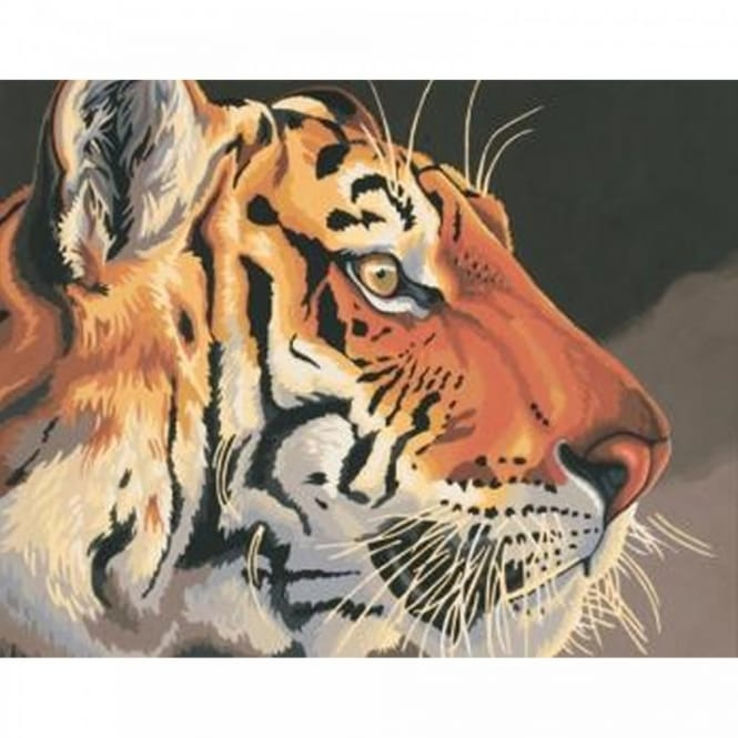 Regal Tiger Paint by Numbers
