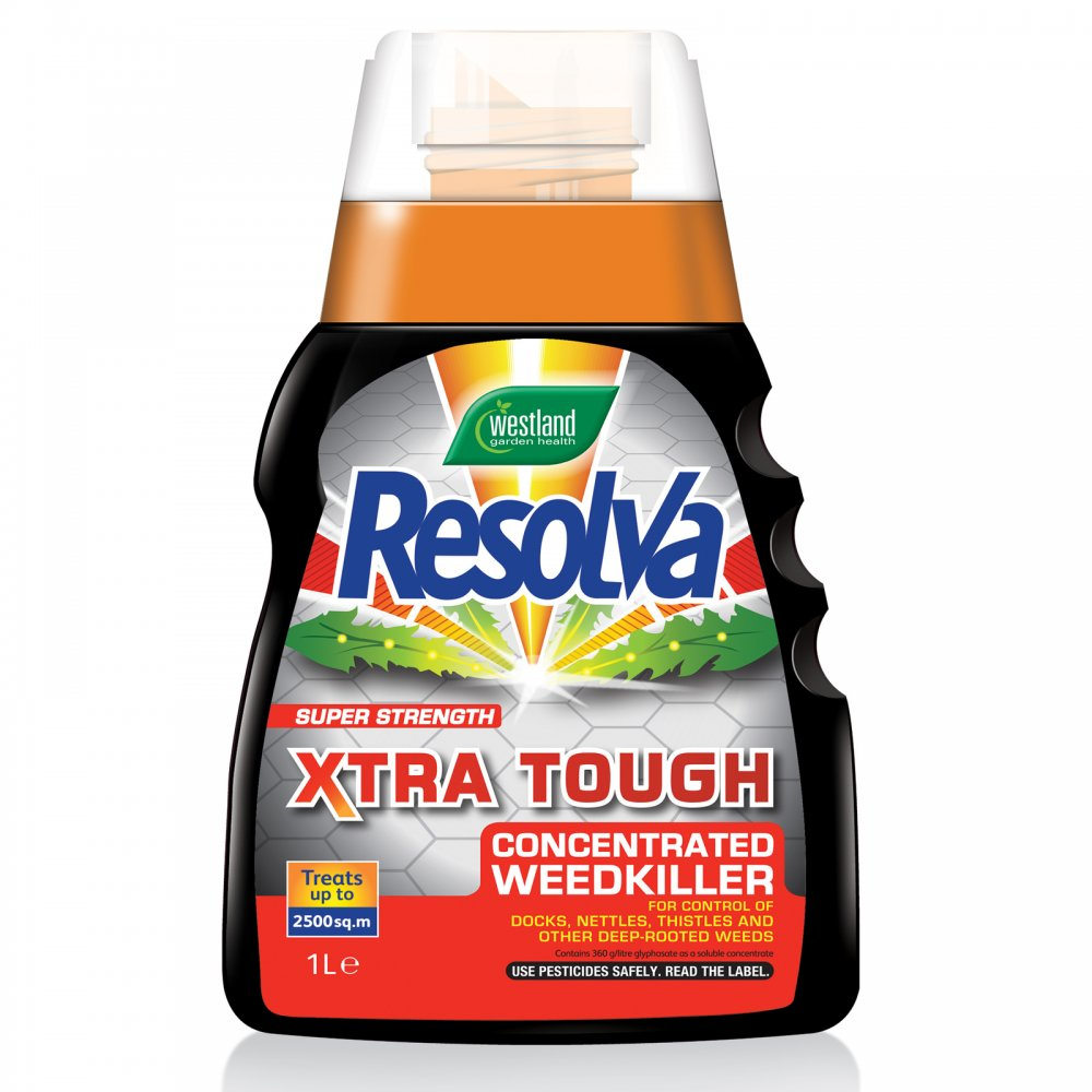 resolva exra tough conentrated weedkiller 1l westland. Black Bedroom Furniture Sets. Home Design Ideas