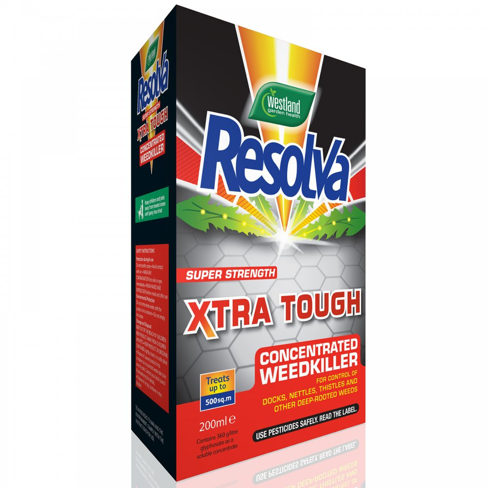 resolva weed killer instructions
