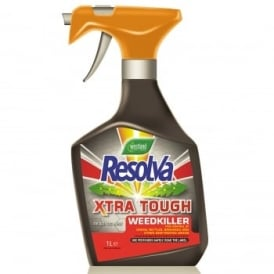 Resolva Xtra Tough Weedkiller 1L Trigger Bottle