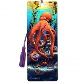 Royce 3D Bookmark - Big Bad Octopus