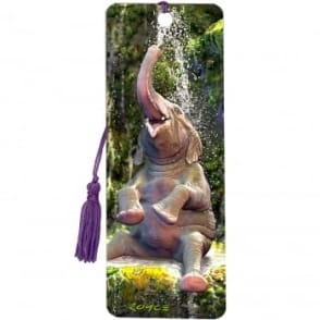 Royce 3D Bookmark - Elephant Bath