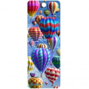 Royce 3D Bookmark - Hot Air Balloons