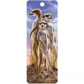 Royce 3D Bookmark - Meerkats