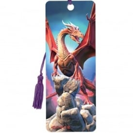 Royce 3D Bookmark - Red Dragon