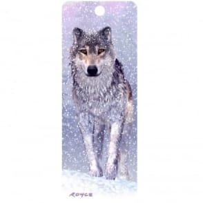 Royce 3D Bookmark - Snow Wolf