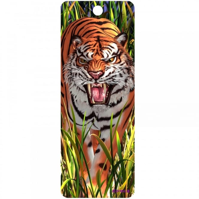 Royce 3D Bookmark - Tiger Trouble